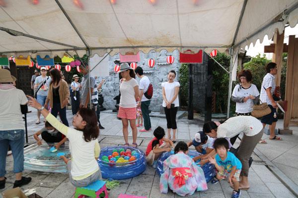 弘法寺の夏祭り