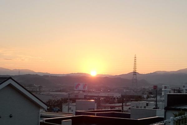 初日の出2017@石尾山