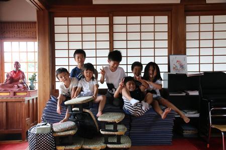 夏の終わりに@石尾山弘法寺
