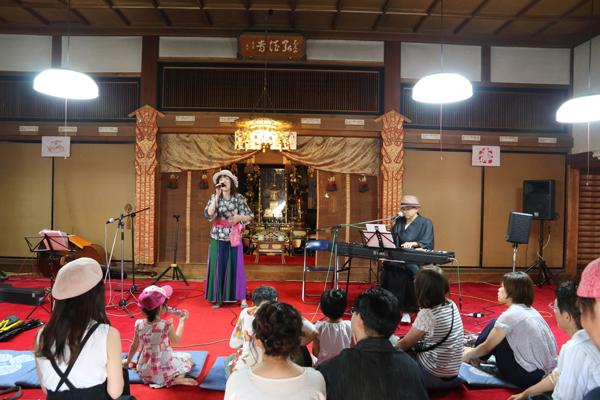 弘法寺の夏祭り2018